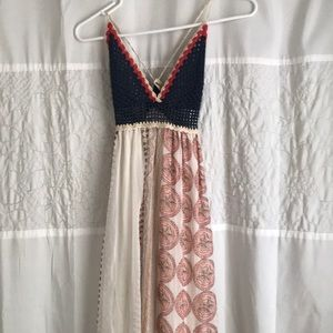 Maxi crochet top sundress